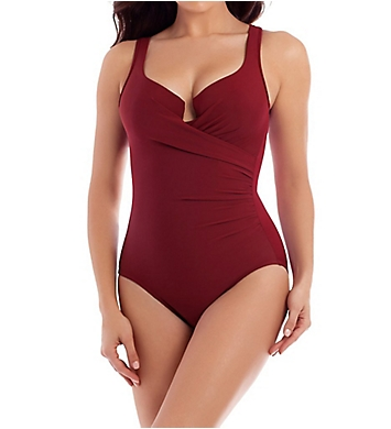 Miraclesuit Must Haves Escape Underwire One Piece Swimsuit