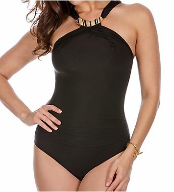 Miraclesuit Solid Bijoux Wireless One Piece Swimsuit