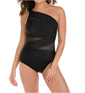 Miraclesuit Network Jena One Shoulder One Piece Swimsuit