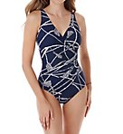 Thoroughbred Oceanus Wireless One Piece Swimsuit