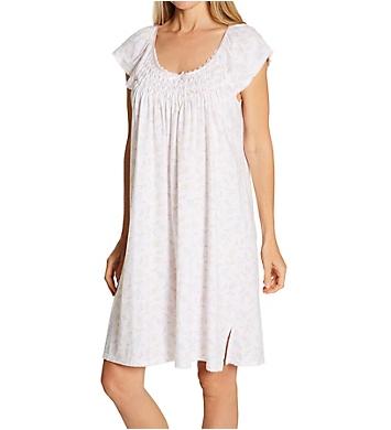 Miss Elaine Silky Knit Short Gown