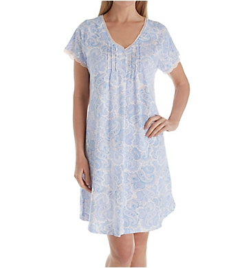 Miss Elaine Cottonessa Short Sleeve Short Gown