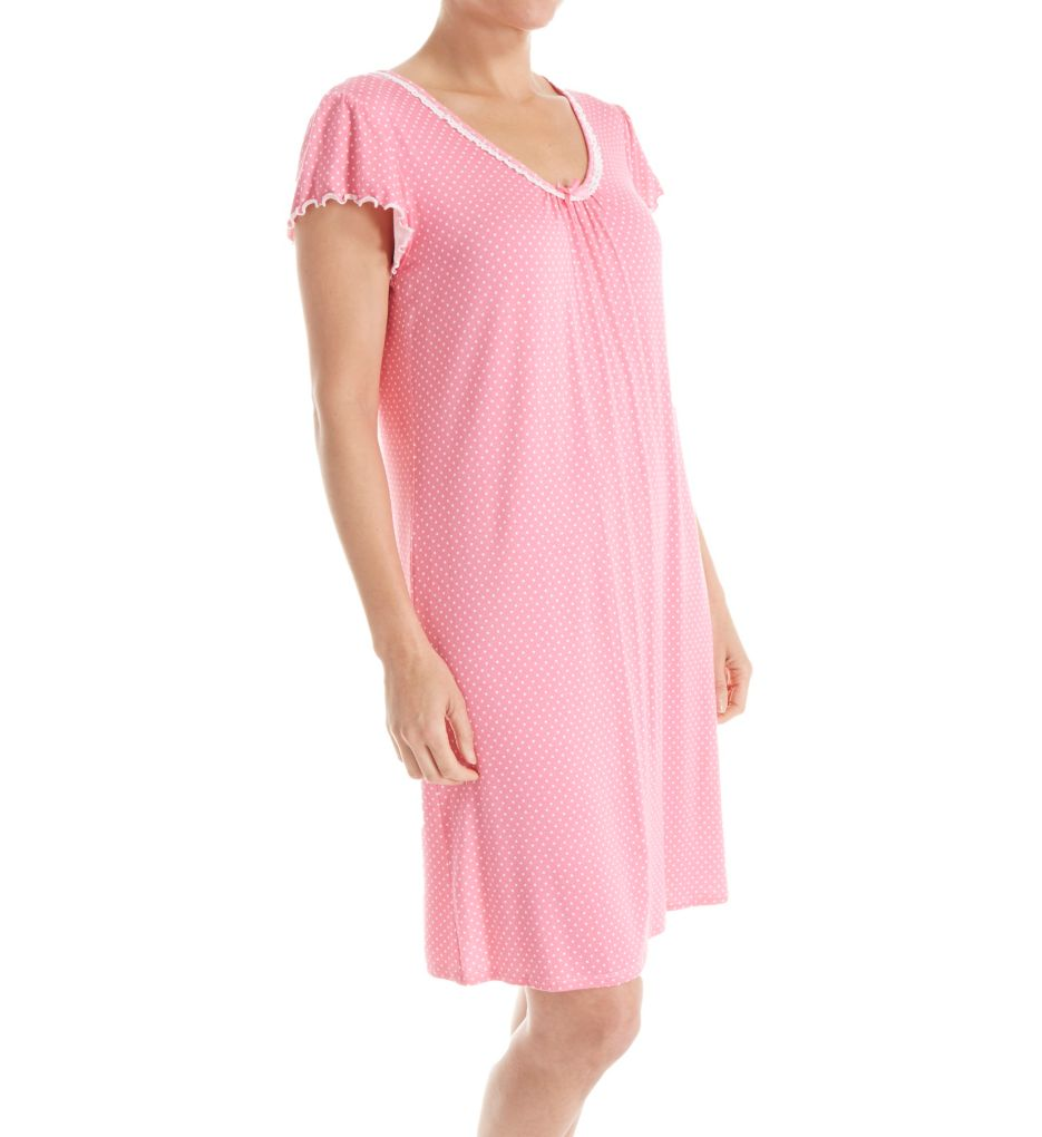 Miss Elaine Liquid Knit Short Gown