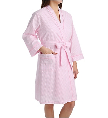 Miss Elaine Cotton Woven Robe