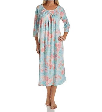 Miss Elaine Cottonessa Long Sleeve Long Gown