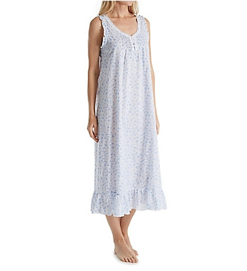 Miss Elaine 100% Cotton Woven Long Gown