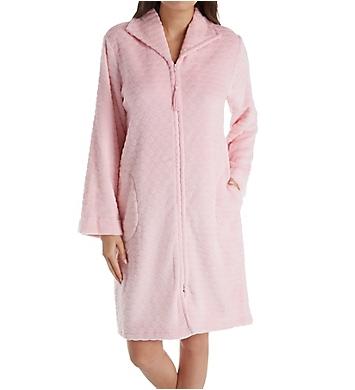 Miss Elaine Cuddle Fleece Short Zip Robe