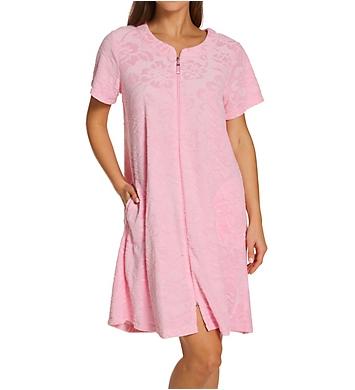 Miss Elaine Micro Terry Short Zip Robe