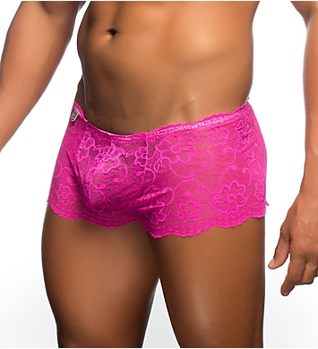 MOB Eroticwear Rose Lace Boy Short