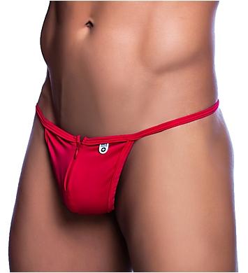 MOB Eroticwear Front Zipper Thong