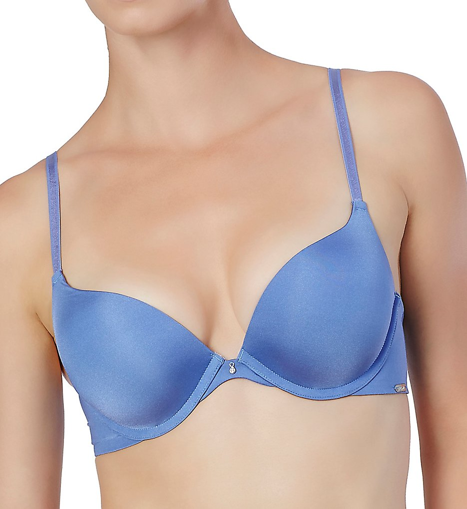 Montelle : Montelle 9015 Prodigy Ultimate Push Up Bra (Blue Iris 34D)
