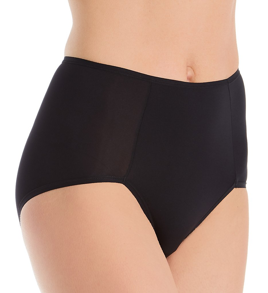 Montelle - Montelle 9389 Essentials Smoothing Brief Panty (Black S)