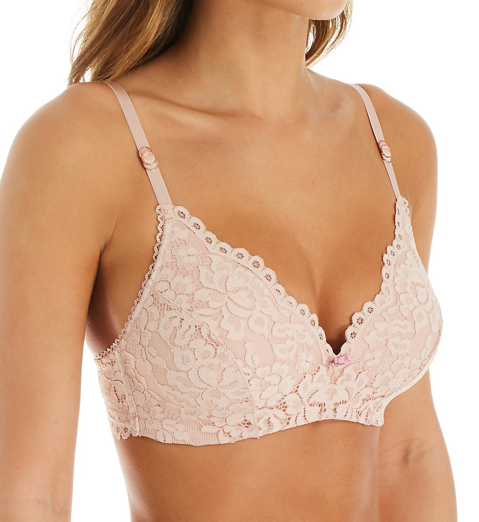 Montelle - Montelle 9435 Bloom Wire Free Bra (Seashell 32A)