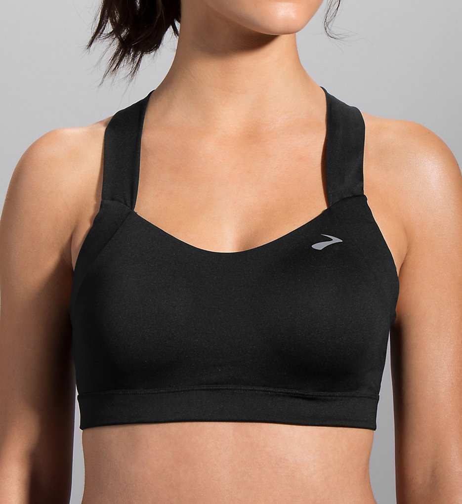 Moving Comfort : Moving Comfort 300616 Uplift Crossback C/D Cup Medium Impact Sports Bra (Black S)