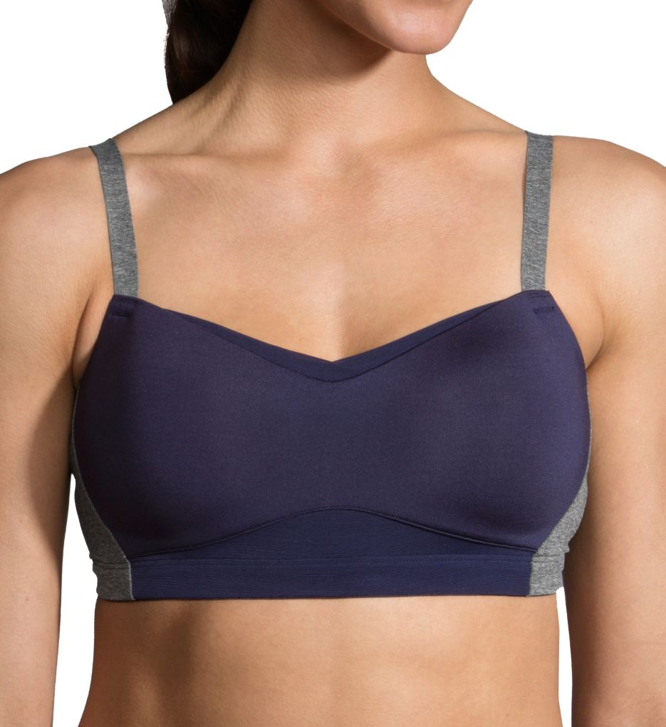 Moving Comfort Fineform Contour Cup Sports Bra with J-Hook
