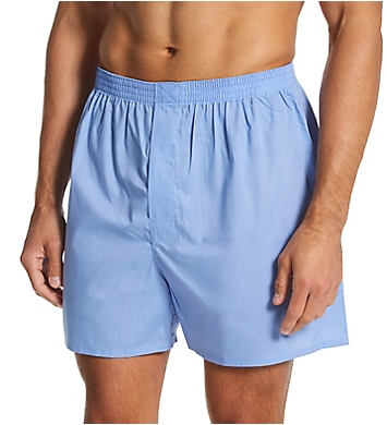 Munsingwear Woven Cotton Blend Open Fly Boxer - 2 Pack