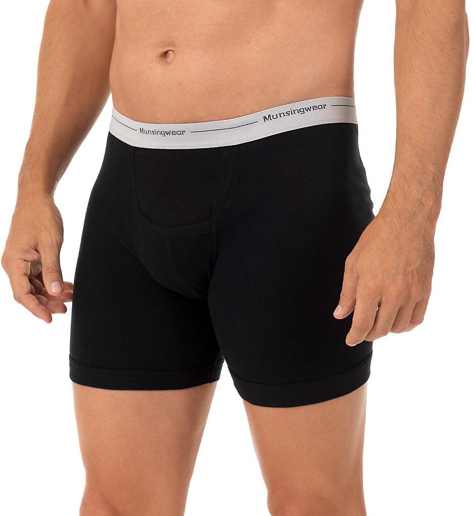 51f08f4229f881 Munsingwear Comfort Cotton Kangaroo Pouch Boxer Brief - 2 Pack MW07 ...