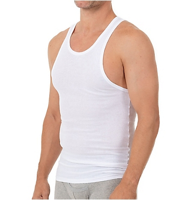 Munsingwear 100% Cotton Athletic Tank - 3 Pack