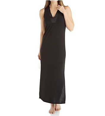 N by Natori Congo Jersey Sleeveless Gown