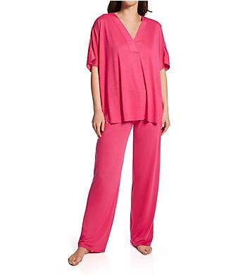 N by Natori Congo Kimono Sleeve Pajama Set