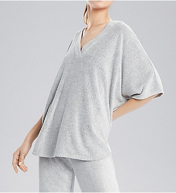 N by Natori Terry Lounge Top