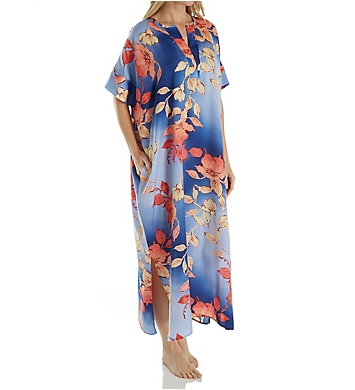 N by Natori Ombre Floral Caftan