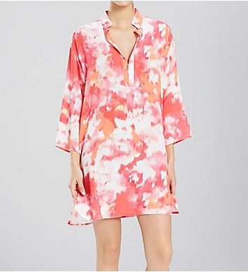 N by Natori Watercolor Sleepshirt Caftan