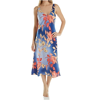 N by Natori Ombre Floral Long Gown