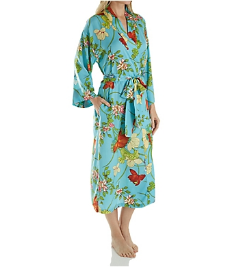 N by Natori Aquarelle Long Robe