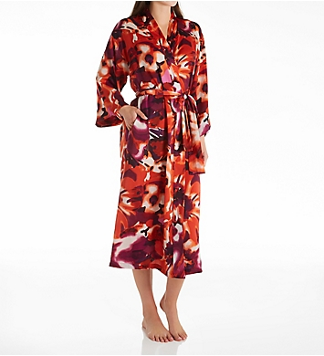 N by Natori Summer Blossom Long Robe