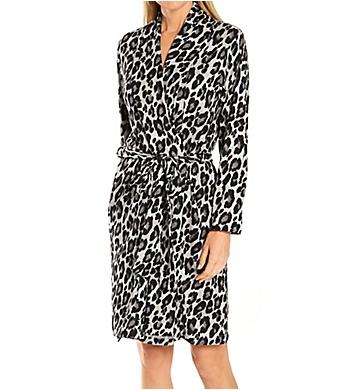 N by Natori Ombre Leopard Robe