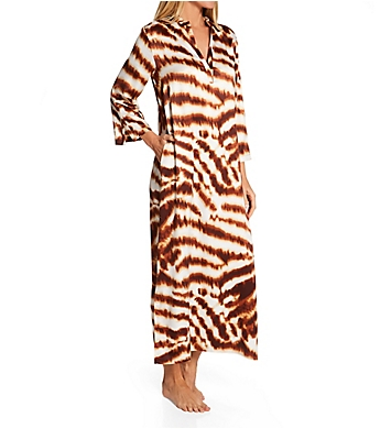 N by Natori Ethereal Tiger Caftan