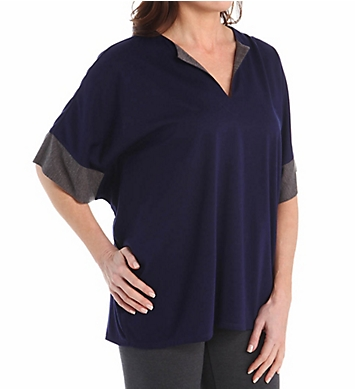 N by Natori Oasis Solid Jersey Tunic Top