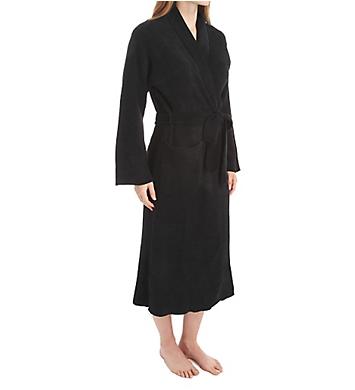 N by Natori Rib Chenille Solid Sweater Knit Robe