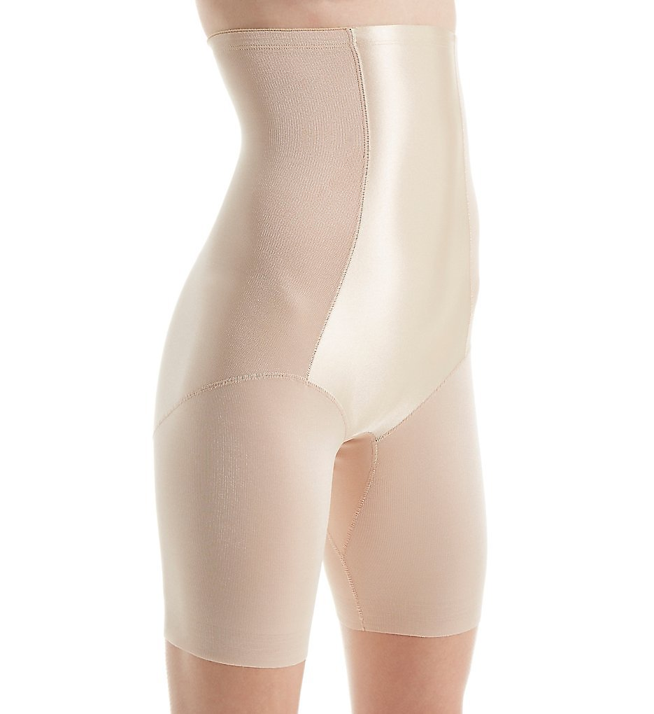 Naomi & Nicole - Naomi & Nicole 7129 Value Firm Control Hi-Waist Thigh Slimmer (Nude S)