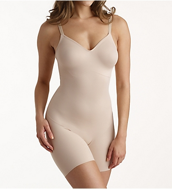 Naomi & Nicole Shapes Your Curves Low Back Bodysuit w/ Back Magic