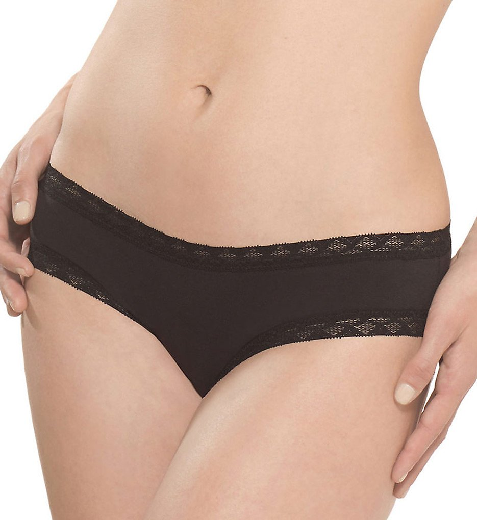 Natori >> Natori 156058 Bliss Girl Brief Panty (Black L)