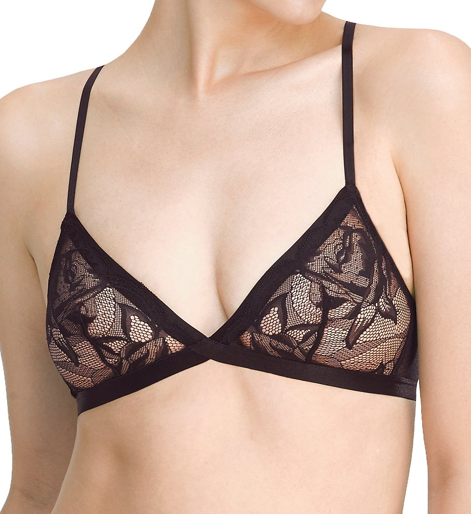 Natori >> Natori 725145 Bouquet Wire Free Day Bra (Black M)