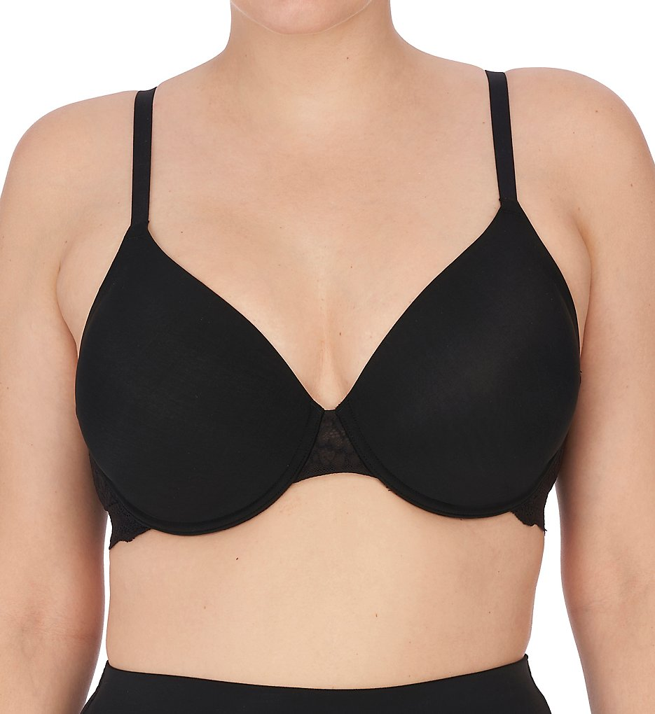 Natori >> Natori 731222 Plush Full Fit Convertible Contour Underwire (Black 34B)