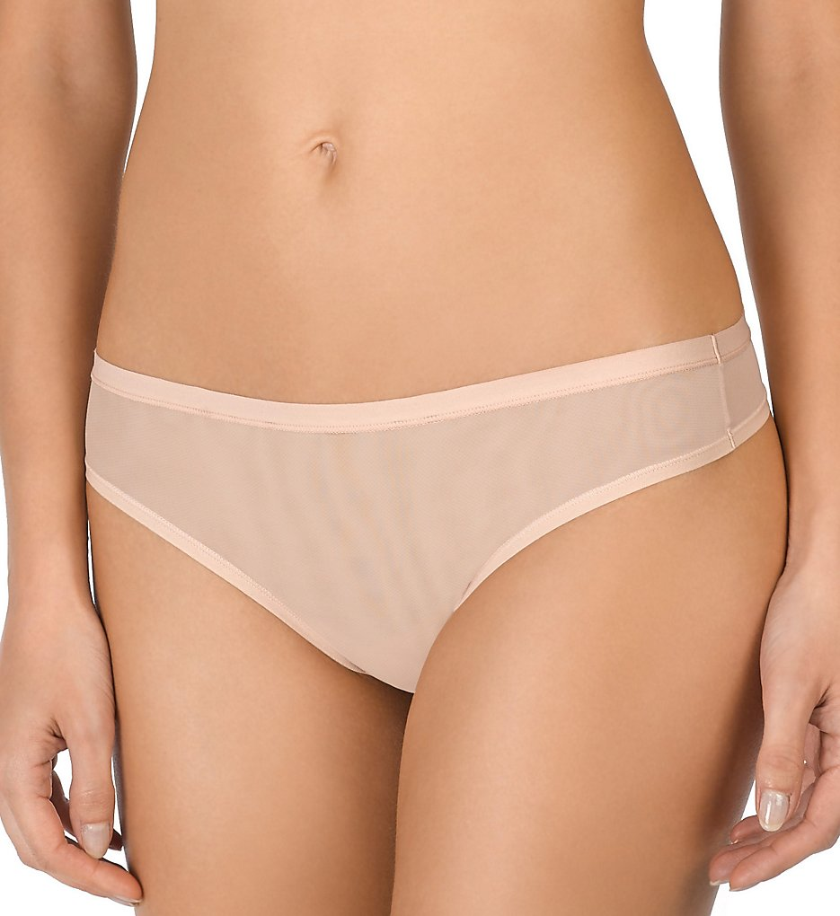Natori >> Natori 771188 Bliss Light Thong Panty (Cameo Rose S)