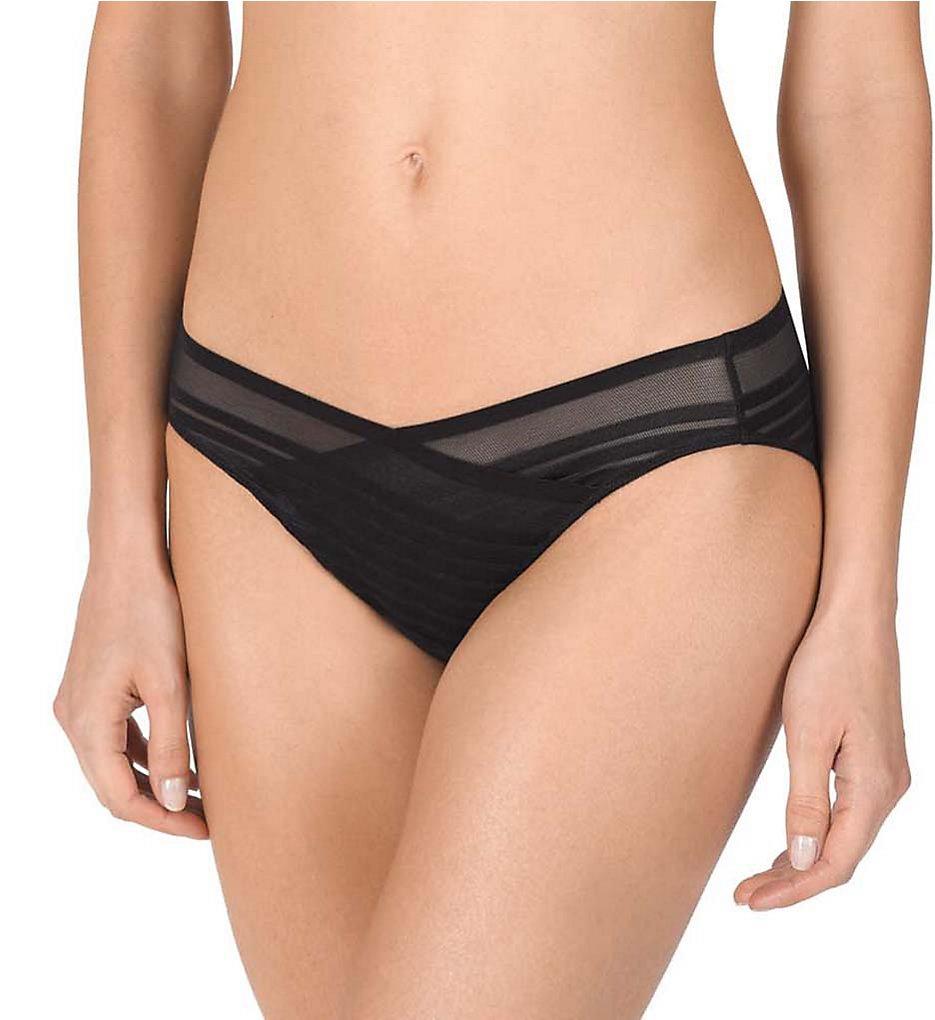 Natori - Natori 773164 Precision Bikini Panty (Black XL)
