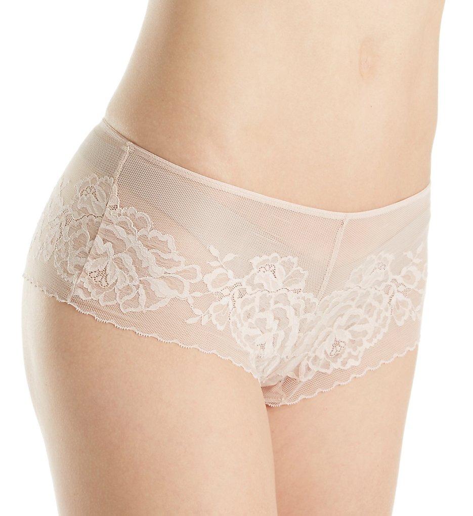 Natori - Natori 776150 Flora Lace Bikini Panty (Cameo Rose XL)