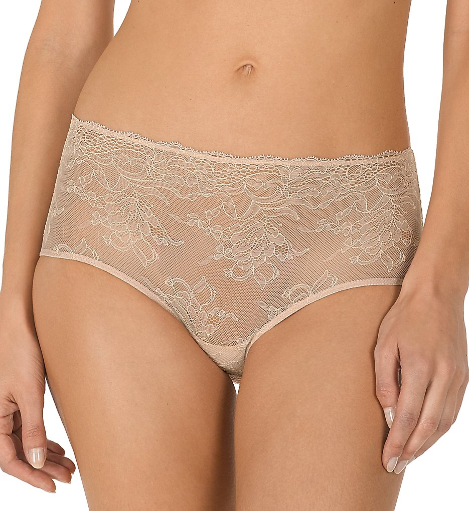 Natori >> Natori 778208 Drama Brief Panty (Light Mocha/Cashmere S)