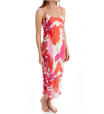 Natori Lucent Palms Printed Gown