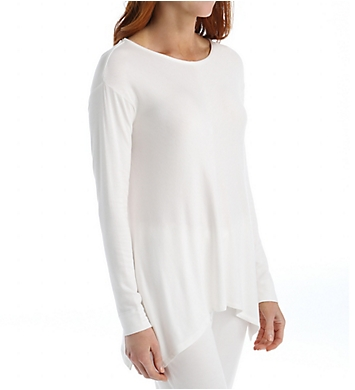 Natori Lounge Terry Long Sleeve Top