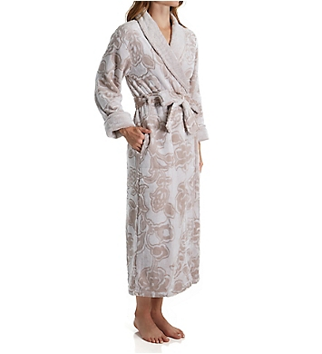 Natori Plush Damask Long Robe