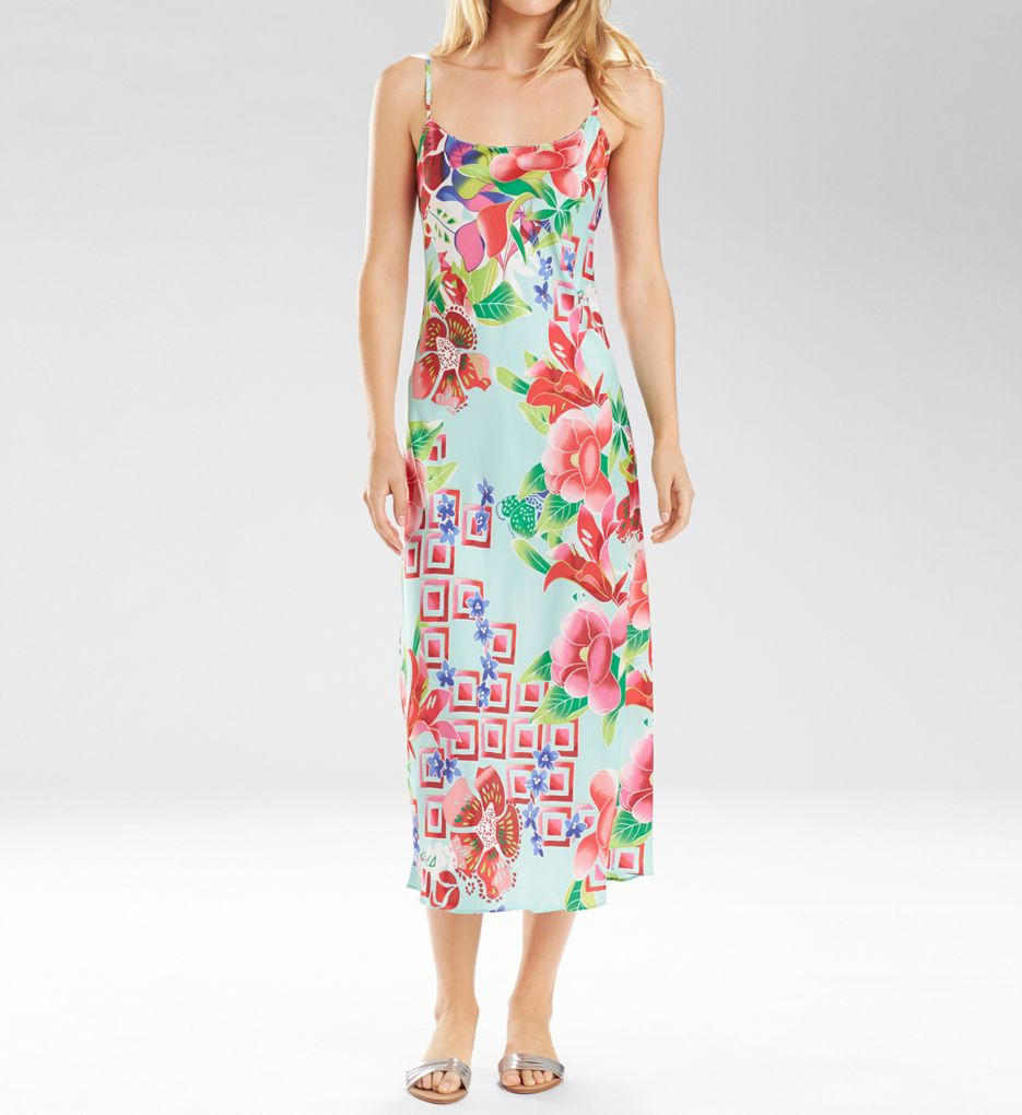 Natori Star Blossom Long Gown