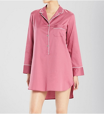 Natori Cotton Sateen Essentials Sleepshirt