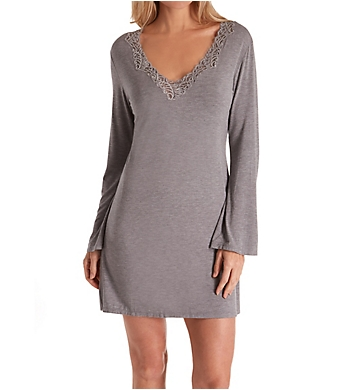 Natori Feathers Sleepshirt with Lace