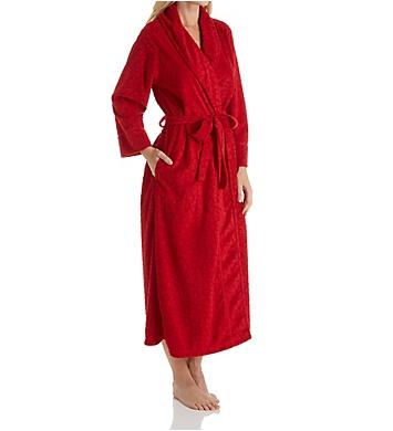 Natori Trance Velvet Jacquard Long Robe